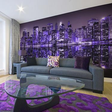 Fototapeta do biura American violet