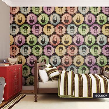 Fototapeta do biura puszki - pop art