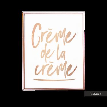 Plakat Crème De La Crème