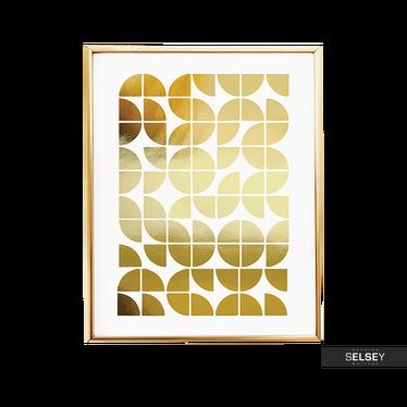 Plakat Geometryczne Kółka