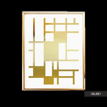 Plakat Geometryczny Wzór