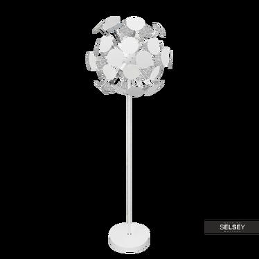 Lampa podłogowa Dotti biała