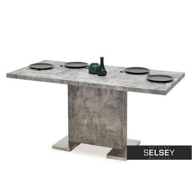 Stół rozkładany Dante 120(160)x80 cm beton