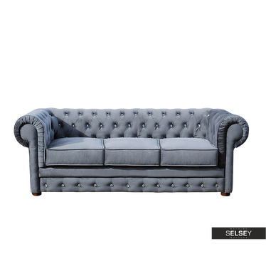 Sofa Chesterfield 3-osobowa