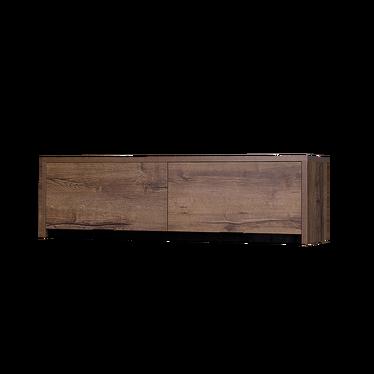 Półka wisząca Ardino 120 cm zamykana