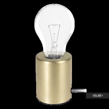 Lampa stołowa Watson 10 cm złota