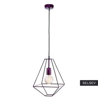 Lampa Little Diamond fioletowa