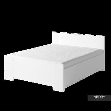 Łóżko Rinker z pojemnikiem na pościel