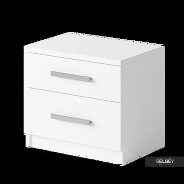 Szafka nocna Rinker dwie szuflady