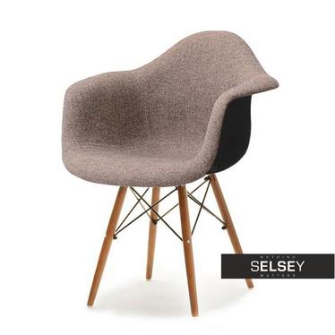 Krzesło MPA wood tap brązowe - orzech