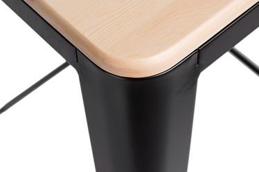 Hoker Paris Wood 65 cm czarny - sosna naturalna