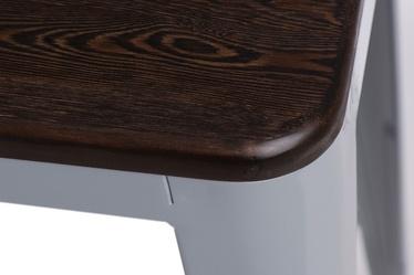 Hoker Paris Wood 65 cm szary - sosna szczotkowana