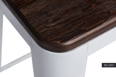 Hoker Paris Wood 65 cm biały - sosna szczotkowana
