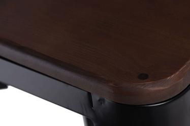Hoker Paris Wood 65 cm czarny - orzech