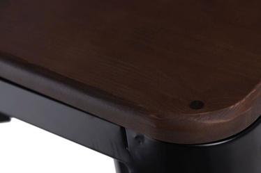 Hoker Paris Wood 75 cm czarny - orzech