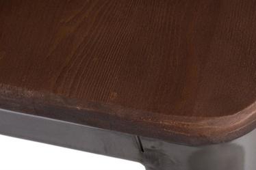 Hoker Paris Wood 75 cm metaliczny - orzech