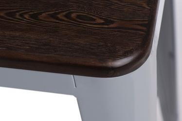 Hoker Paris Wood 75 cm szary - sosna szczotkowana