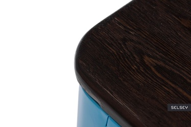 Hoker Paris Wood 75 cm niebieski - sosna szczotkowana