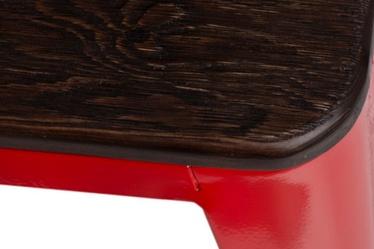 Hoker Paris Wood 75 cm czerwony - sosna szczotkowana