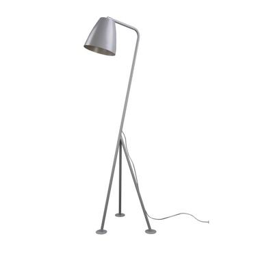 Lampa podłogowa Birala szara