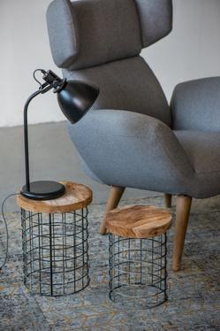 Lampka na biurko Gloss czarna