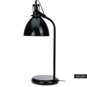 Lampa stołowa Gloss czarna