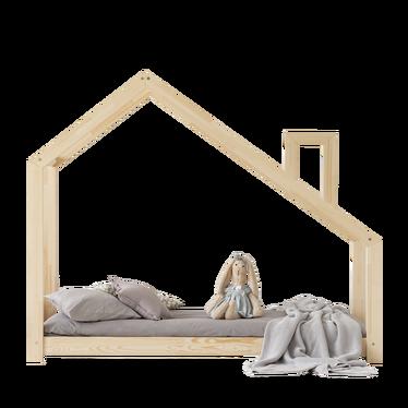 Łóżko Dalida domek z kominem