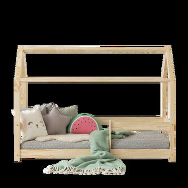 Łóżko Dalida domek z barierką