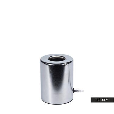 Lampa stołowa Watson 10 cm srebrna błyszcząca