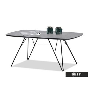 Ława Rubin 110x60 cm beton - czarna