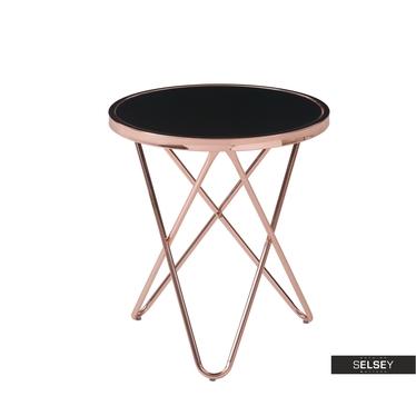 Stolik kawowy Copper średnica 45 cm