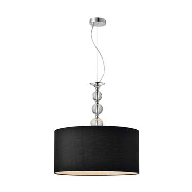 Lampa wisząca Crystal czarna