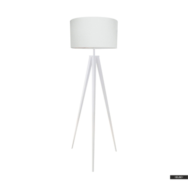Lampa podłogowa Washington biała