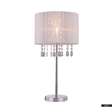 Lampa stołowa Bennett biała