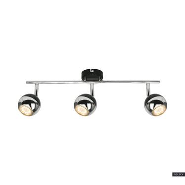 Lampa sufitowa Ceylon czarna x3