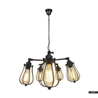 Lampa wisząca Chicago x5