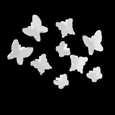 Dekoracja ścienna Mariposa biały
