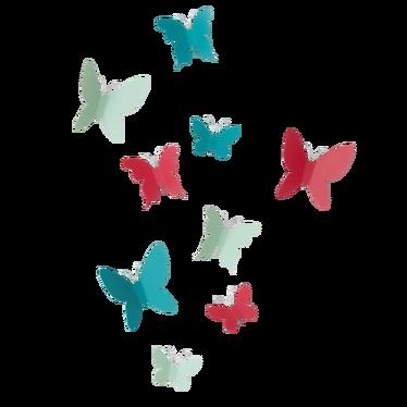 Dekoracja ścienna Mariposa kolorowa