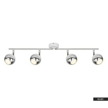 Lampa sufitowa Ceylon biała x4