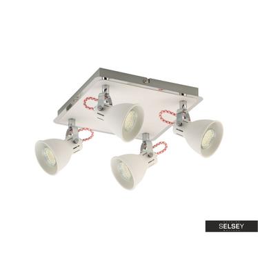 Lampa sufitowa Janice x4