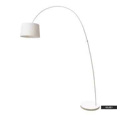 Lampa podłogowa Heidi biała
