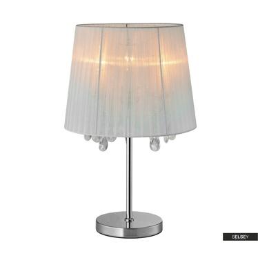 Lampa stołowa Robinson biała