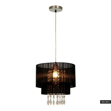 Lampa wisząca Bennett czarna średnica 30 cm