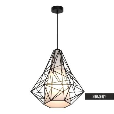 Lampa Kostra czarna