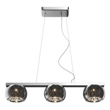 Lampa Glamour podłużna x 3