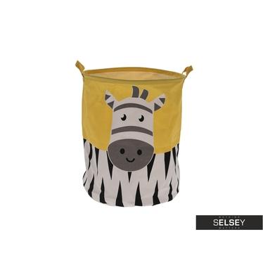Kosz na pranie Zebra