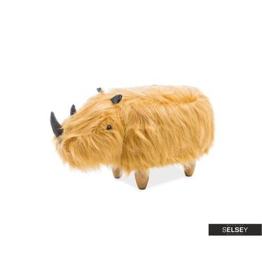 Siedzisko Nosorożec rudy kudłaty