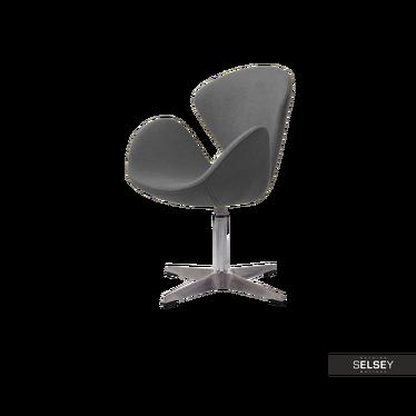 Fotel biurowy Tonale szary