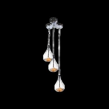 Lampa wisząca Glitter x3