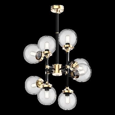 Lampa wisząca Tulum x8 123 cm